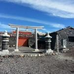建替え工事前の拝殿(社務所は完成)